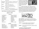Weekly Bulletin – 01/24/16
