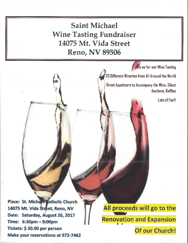 thumbnail of St. Michael Wine Tasting
