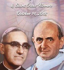 Canonization of Saint Paul VI and Saint Oscar Romero
