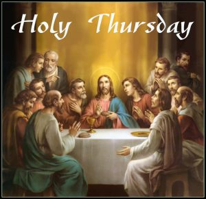 Proclamation of the Word for Holy Thursday