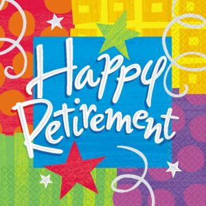 Rescheduled Retirement Party